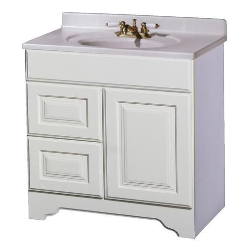 pace charleston series 30 x 21 vanity with drawers on