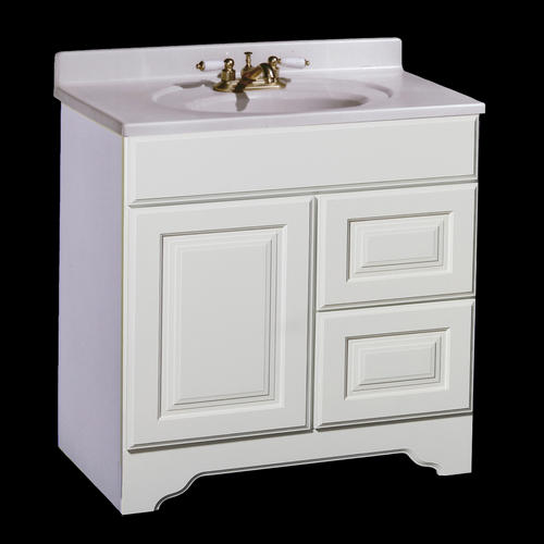 "Pace Charleston Series 30"" x 21"" Vanity with Drawers on"