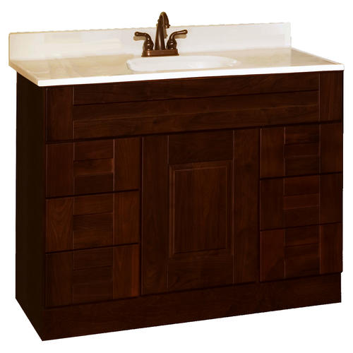 pace statesman series 48 x 21 vanity with drawers at