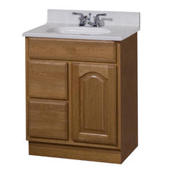 """Pace King James Series 24"""" x 18"""" Vanity with Drawers on Left"""