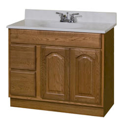 "Pace King James Series 36"" x 18"" Vanity with Drawers on Left"