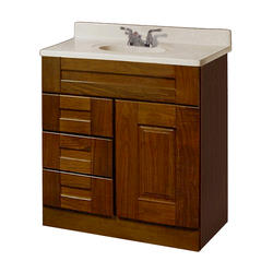 """Pace Statesman Series 30"""" x 21"""" Vanity with Drawers on Left"""