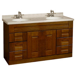 """Pace Statesman Series 60"""" x 18"""" Vanity with Drawers"""