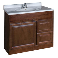 """Pace Valencia Series 36"""" x 18"""" Vanity with Drawers on Right"""