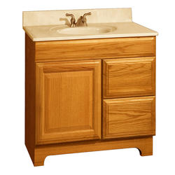 "Pace Carnegie Series 30"" x 18"" Vanity with Drawers on Right"