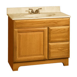 "Pace Carnegie Series 36"" x 21"" Vanity with Drawers on Right"