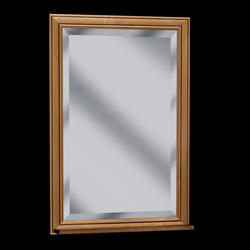 "Pace Plantation Series 24"" Corner Framed Mirror"
