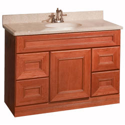 """Pace Royal Oak Series 48"""" x 18"""" Vanity with Drawers"""