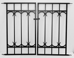 "Enchanted Garden 27""H x 36""W Park Avenue Gate Panel"