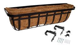"""30"""" Flatiron Deck Planter"""