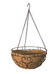 "14"" Cameo Hanging Basket"