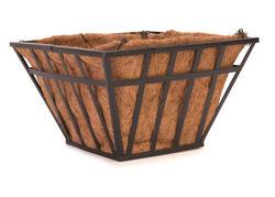 Flat Iron Square Basket