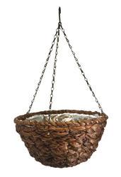 """12"""" Water Hyacinth Hanging Basket"""