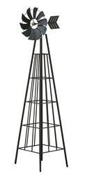 """72"""" Metal Windmill"""