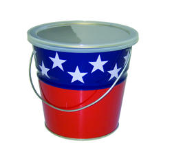 23 oz. Flag Citronella Candle Pail
