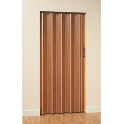 "Panelfold® 32"" W x 80"" H Scale/4 Laminated Wood Core Single Folding Door"