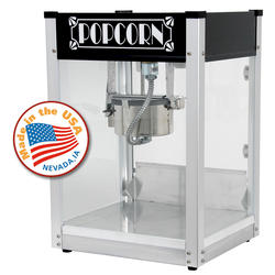 Paragon Black Gatsby Popcorn Machine - 4 oz.