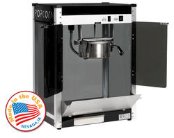 Paragon Black Contempo Pop Popcorn Machine - 6 oz.