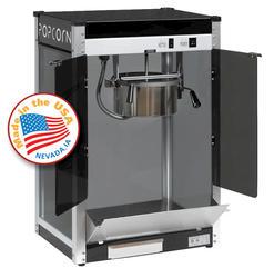Paragon Black Contempo Pop Popcorn Machine - 8 oz.