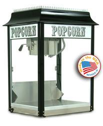 Paragon Black and Cream 1911 Originals Popcorn Machine - 8 oz.