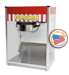 Paragon Red Classic Pop Popcorn Machine - 14 oz.