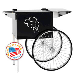 Paragon Medium Black Contempo Popcorn Cart