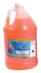 Paragon Motla Orange Sugar Free Sno Cone Syrup - 1 gal.