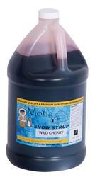Paragon Motla Wild Cherry Sno Cone Syrup - 1 gal.