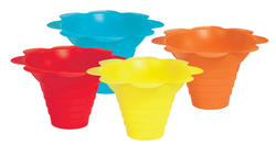 Paragon 4 oz. Sno Cone Flower Drip Trays - 100 cs.