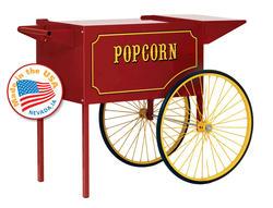 Paragon Large Red Popcorn Cart