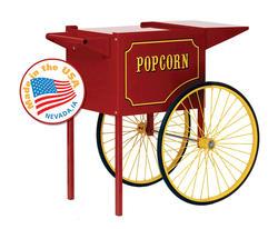 Paragon Medium Red Popcorn Cart