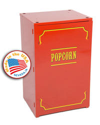 Paragon Red Premium 1911-6/8 Popcorn Stand for 6- and 8-oz. Popcorn Carts