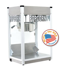 Paragon Stainless Steel Professional Series Popcorn Machine - 8 oz.