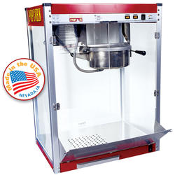 Paragon Red Theater Pop Popcorn Machine - 16 oz.