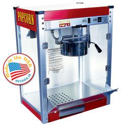 Paragon Red Theater Pop Popcorn Machine - 6 oz.
