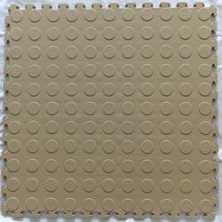 Norsk-Stor Raised Coin Pattern PVC Tiles (13.95 sq.ft/pkg)