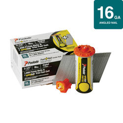 """2-1/2"""" F16 Angled Finish Fuel and Nail Pack"""