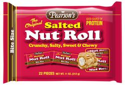 Pearson Bite Size Salted Nut Roll