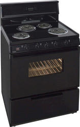 "Premier 30"" Electric Coil Freestanding 3.9 cu. ft. Range with 10"" Tempered Glass Backguard"