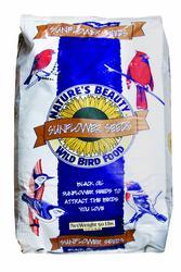 Nature's Beauty Sunflower Seeds Wild Bird Food - 50 lb