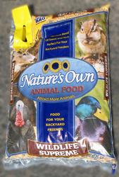 Nature's Own Wildlife Supreme Animal Food - 20 lb