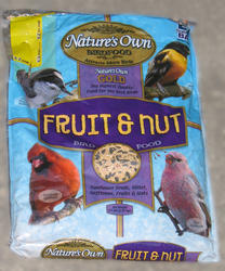 Nature's Own Gold Fruit & Nut Wild Bird Food - 6.5 lb