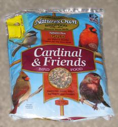 Nature's Own Gold Cardinal & Friends Wild Bird Food - 6.5 lb