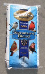 Nature's Own Gold Signature Blend Wild Bird Food - 40 lb