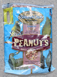 Nature's Own Gold Peanuts Wild Bird Food - 8 lb