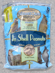 Nature's Own Gold In-Shell Peanuts Wild Bird Food - 4 lb