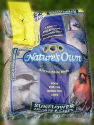 Nature's Own Sunflower Hearts & Chips Wild Bird Food - 5.5 lb