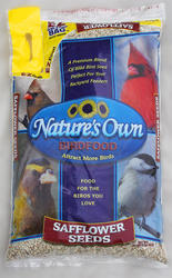 Nature's Own Safflower Seeds Wild Bird Food - 16 lb