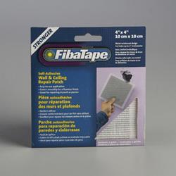 """FibaTape 4"""" x 4"""" Perforated Aluminum Wall Repair Patch"""
