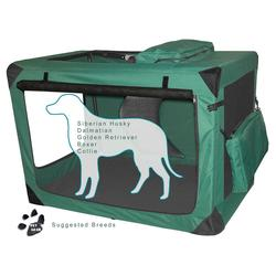 """Pet Gear Generation II 42"""" Deluxe Portable Soft Crate"""